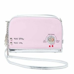 Betsey Johnson KITSCH A TOAST TO YOU CROSSBODY
